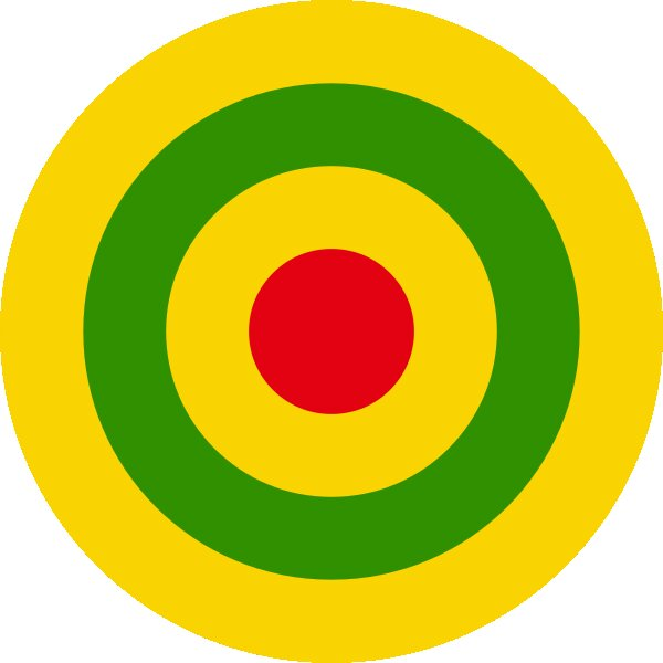 Roundel of Rwanda Air Force.