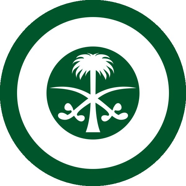Roundel of Saudi Arabia Air Force.