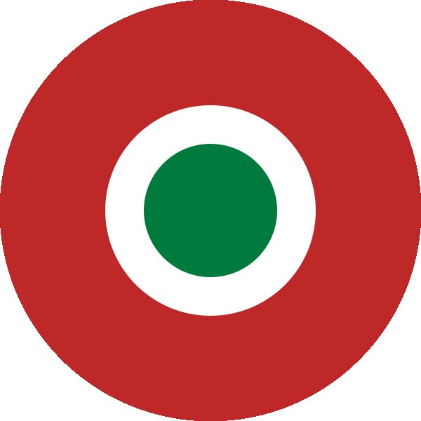 Roundel of Seychelles Air Force.