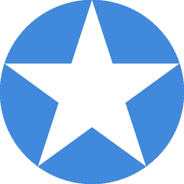 Roundel of Somalia Air Force.