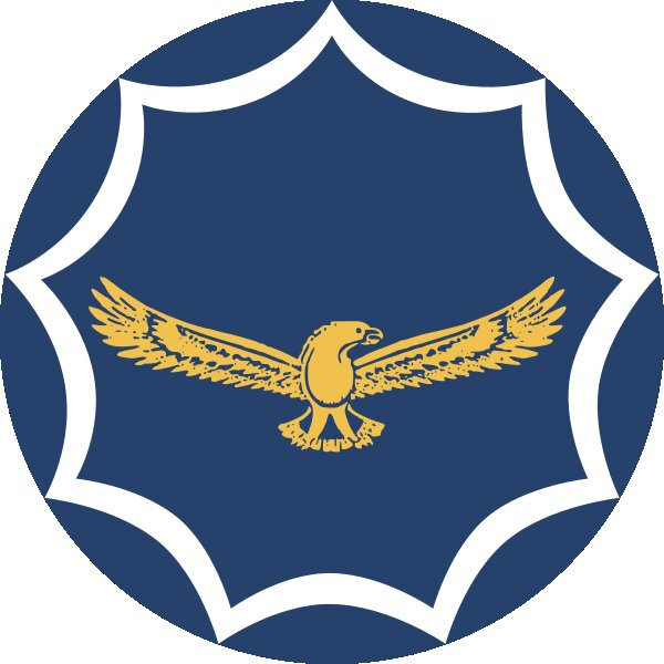 Roundel of South Africa Air Force.
