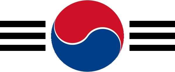 Roundel of South Korea Air Force.