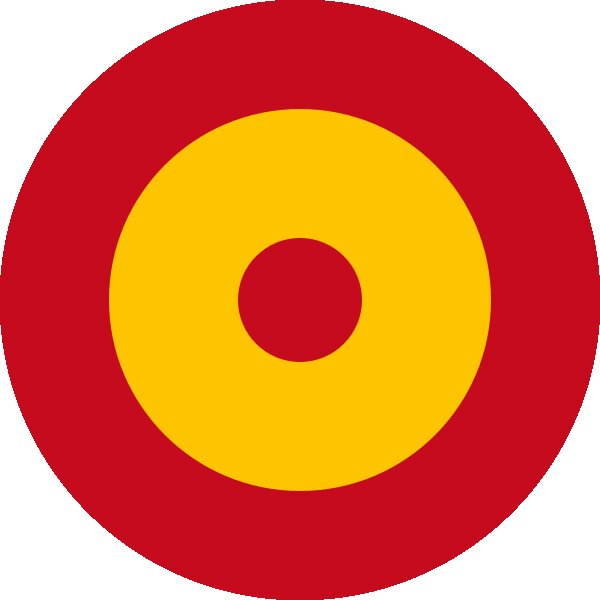 Roundel of Spain Air Force.