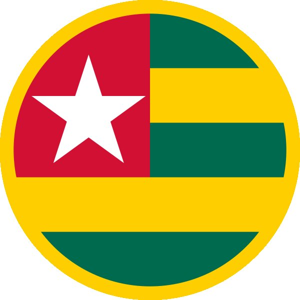 Roundel of Togo Air Force.