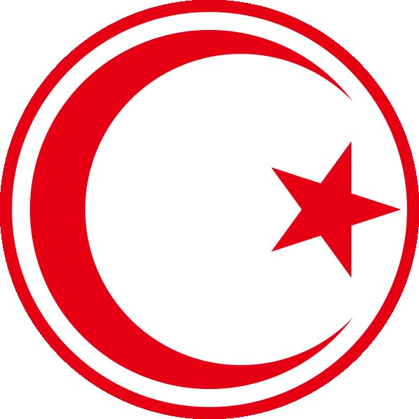 Roundel of Tunisia Air Force.