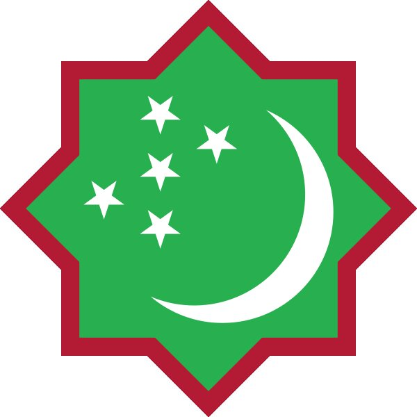 Roundel of Turkmenistan Air Force.