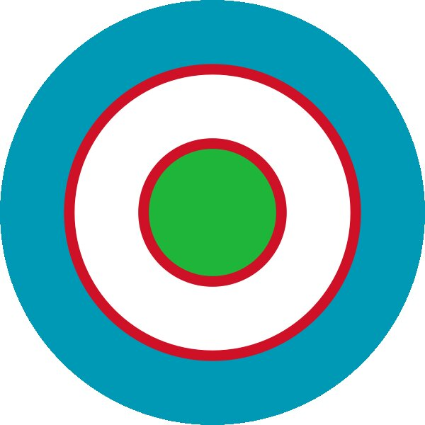 Roundel of Uzbekistan Air Force.