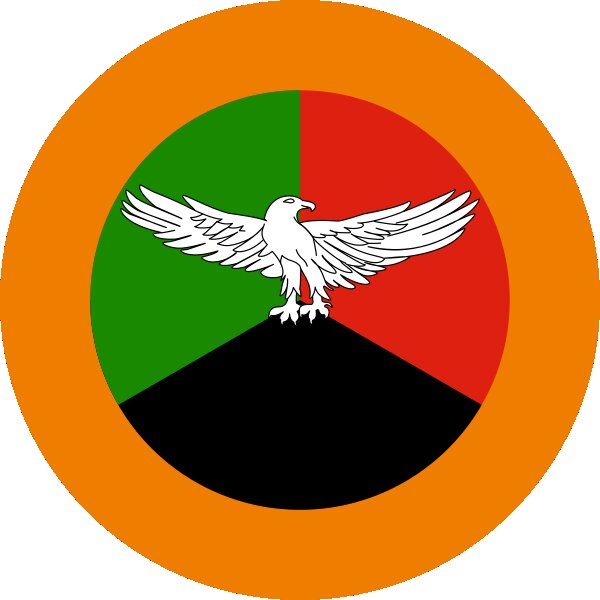 Roundel of Zambia Air Force.