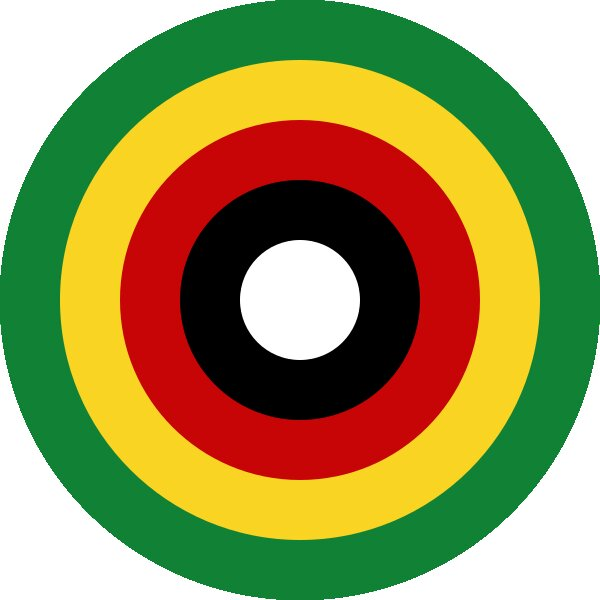Roundel of Zimbabwe Air Force.