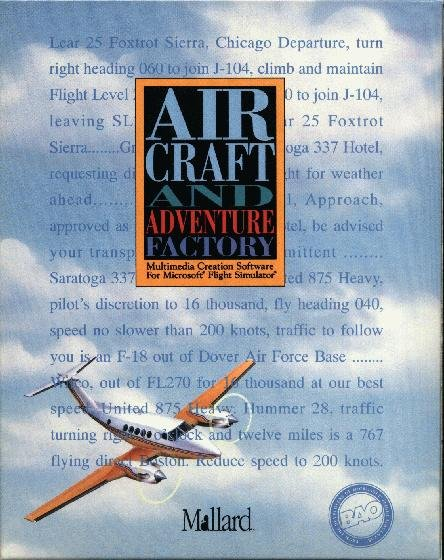 Aircraft and Adventure Factory