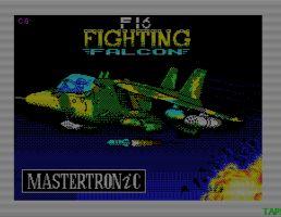 F-16 Fighting Falcon (Mastertronics)
